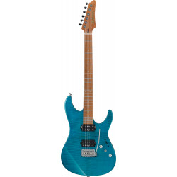 Ibanez MM1 TAB EG Solid Transparent Aqua Blue Martin Miller