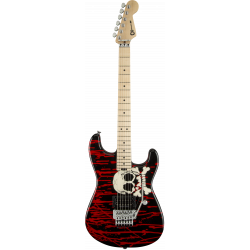 Warren DeMartini Signature Pro-Mod Blood and Skull, Maple Fingerboard, Blood and Skull