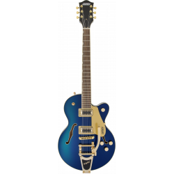 G5655TG Electromatic® Center Block Jr. Single-Cut with Bigsby® and Gold Hardware, Laurel Fingerboard, Azure Metallic
