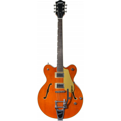 G5622T Electromatic® Center Block Double-Cut with Bigsby®, Laurel Fingerboard, Orange Stain