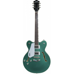 G5622LH Electromatic® Center Block Double-Cut with V-Stoptail, Left-Handed, Laurel Fingerboard, Georgia Green