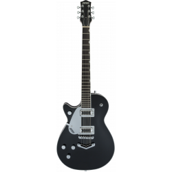 G5230LH Electromatic® Jet™ FT Single-Cut with V-Stoptail, Left-Handed, Black Walnut Fingerboard, Black