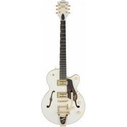 G6659TG Players Edition Broadkaster® Jr. Center Block Single-Cut with String-Thru Bigsby® and Gold Hardware, Ebony Fingerboard,