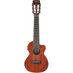G9126 A.C.E. Guitar-Ukulele, Acoustic-Cutaway-Electric with Gig Bag, Ovangkol Fingerboard, Fishman® Kula Pickup, Honey Mahogany