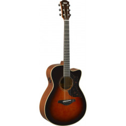 Electric Acoustic Guitar Ac3M Are Tobacco Brown Sumbur