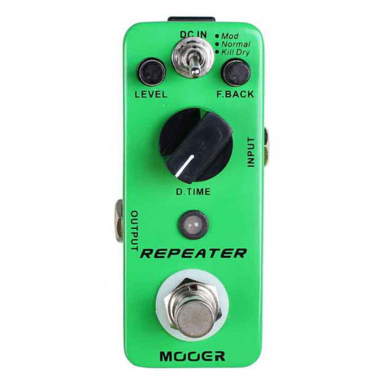 Pedal Delay Mooer Repeater