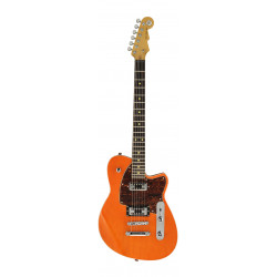 Guitarra eléctrica Reverend Flatroc Rock Orange