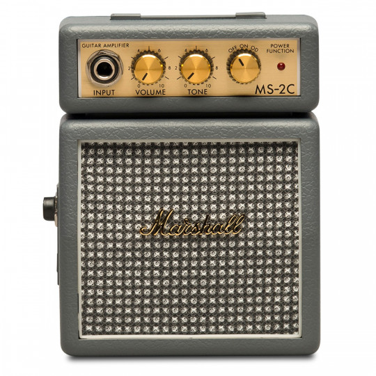 Mini Amplificador Marshall MS-2C Vintage Grey