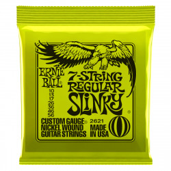 Ernie Ball 2621 7-String Regular Slinky Níckel